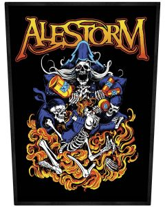 ALESTORM - Pirate Entry Level - Backpatch / Rückenaufnäher