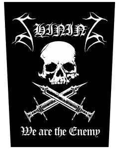 SHINING - We are the enemy - Backpatch / Rückenaufnäher