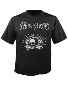 MINISTRY - Skull Logo - T-Shirt