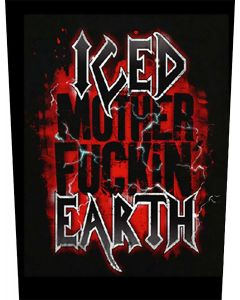 ICED EARTH - Mother Fuckin - Backpatch / Rückenaufnäher