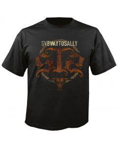 SUBWAY TO SALLY - Mirrored - T-Shirt
