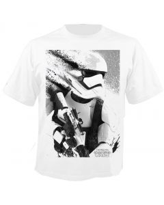 STAR WARS - Stormtrooper Splatter - Episode 7 - The Force Awakens - T-Shirt
