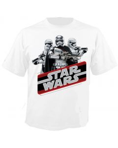STAR WARS - Retro Phasma - Episode 7 - The Force Awakens - T-Shirt