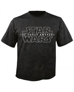 STAR WARS - The Force - speckled - Episode 7 - The Force Awakens - T-Shirt