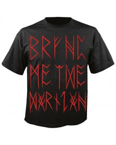 BRING ME THE HORIZON - Splatter Text - T-Shirt