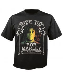 BOB MARLEY - Ride on Ribbon - T-Shirt