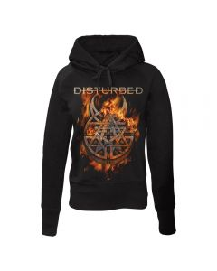 DISTURBED - Burning Belief - GIRLIE - Kapuzenpullover