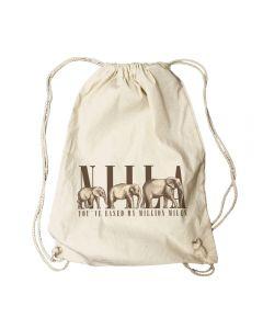NIILA - Million Miles - Turnbeutel / Rucksack / Gymbag