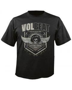 VOLBEAT - Shield - Dark Skullwing - T-Shirt