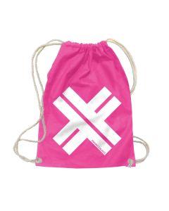 ESKIMO CALLBOY - Big X - Pink - Turnbeutel / Rucksack / Gymbag
