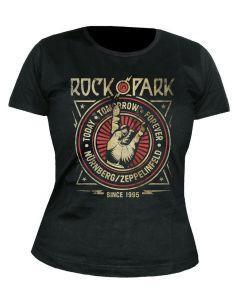 ROCK IM PARK - Cross Crest - GIRLIE - Shirt