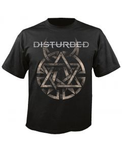 DISTURBED - Symbol - Logo - T-Shirt