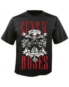 GUNS N ROSES - Skull - Appetite for Destruction - T-Shirt