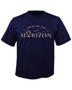 BRING ME THE HORIZON - Horizon - Navy - T-Shirt