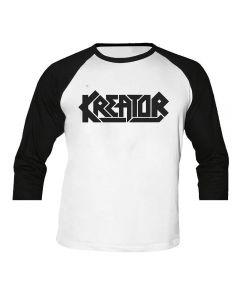 KREATOR - Logo - Baseball - Langarm - Shirt / Longsleeve