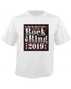 ROCK AM RING - 2019 - Classic - White - T-Shirt