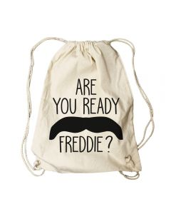 QUEEN - Freddie Mercury - Are You Ready - Turnbeutel / Rucksack / Gymbag