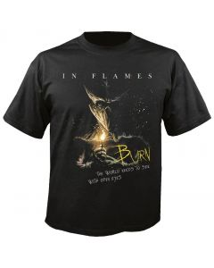 IN FLAMES - Burn - T-Shirt