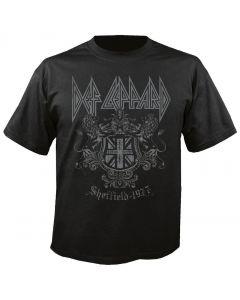DEF LEPPARD - Sheffield 1977 - T-Shirt