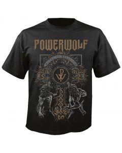 POWERWOLF - Wolves - Cross - T-Shirt