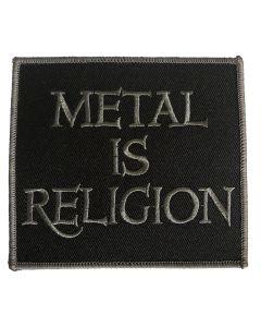 POWERWOLF - Metal is Religion - gestickt - Patch / Aufnäher