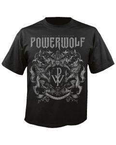 POWERWOLF - Crest - Metal is Religion - T-Shirt