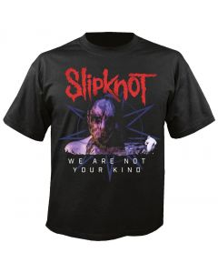 SLIPKNOT - Bold Letters - We are not your Kind - T-Shirt