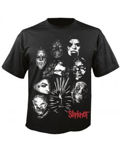 SLIPKNOT - We are not your Kind - Mask Group - T-Shirt