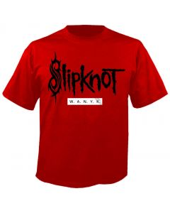 SLIPKNOT - We are not your Kind - White Balk - Red - T-Shirt