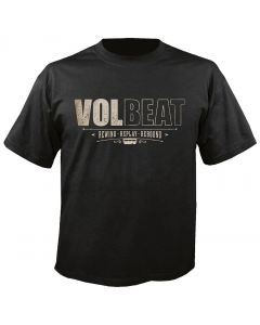 VOLBEAT - Distressed - Rewind Replay Rebound - T-Shirt