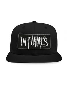 IN FLAMES - Scratched Patched Logo - Snapback - Base Cap