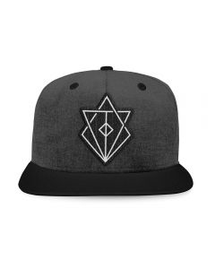 IN FLAMES - Jesterhead Patched Logo - Snapback - Base Cap
