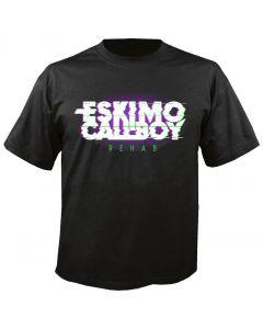 ESKIMO CALLBOY - Rehab - Logo - Glitch Effect - T-Shirt