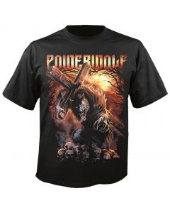 POWERWOLF - Via Dolorosa - Metal is Religion - T-Shirt