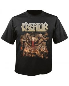 KREATOR - Cover - 666 World Divided - T-Shirt