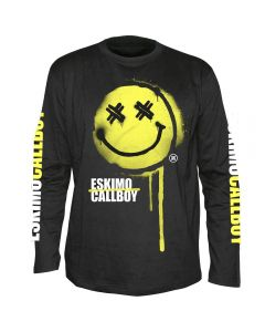 ESKIMO CALLBOY - Sprayed Smiley - Langarm - Shirt / Longsleeve