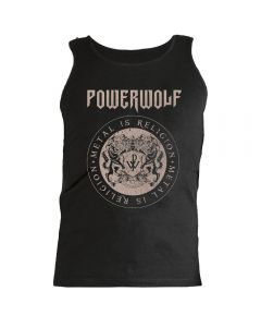 POWERWOLF - Circle Crest - Men - Tank Top - Shirt