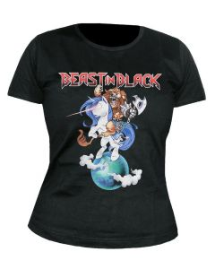 BEAST IN BLACK - Unicorn - GIRLIE - Shirt