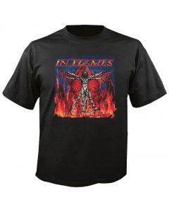 IN FLAMES - Clayman Cover - World Tour 2000 - T-Shirt