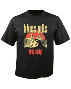 BLUES PILLS - Holy Moly - Cover - T-Shirt