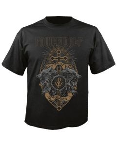 POWERWOLF - Metal is Religion - Crest of Wolves - T-Shirt