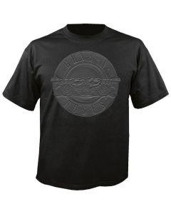 GUNS N ROSES - Sketch Relief Logo - Greatest Hits - T-Shirt