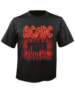 AC/DC - PWR-UP - Logo - Band Silhouette - T-Shirt