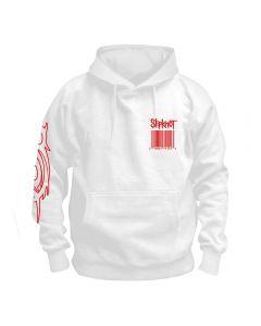 SLIPKNOT - Barcode - Wait and Bleed - White - Kapuzenpullover / Hoodie