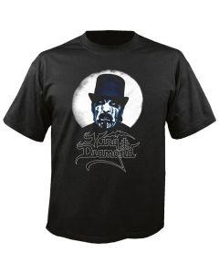 KING DIAMOND - Moon - Black - T-Shirt