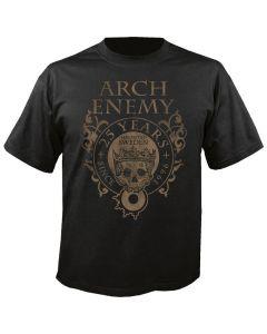ARCH ENEMY - 25th Anniversary - Logo Crest - T-Shirt