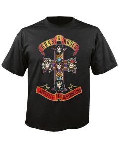 GUNS N ROSES - Cover - Appetite for Destruction - T-Shirt