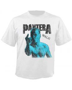 PANTERA - Phil Walk - Distressed - White - T-Shirt