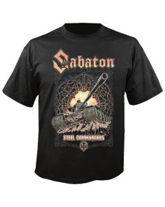 SABATON - WORLD OF TANKS - Steel Commanders - T-Shirt