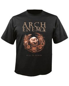 ARCH ENEMY - 25th Anniversary - Will to Power - T-Shirt